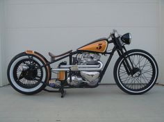 Clean Bobber... sick seat too