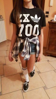 Outfit calzettoni adidas