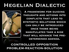 hegelian dialectic example