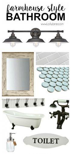 Light Farmhouse Style Bathroom Light Home Decor Bathroom - Farmhouse bathroom light fixtures for bathroom decor ideas