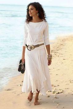 St. Kitts Skirt - Long Summer Skirt, Skirts, Clothing | Soft Surroundings