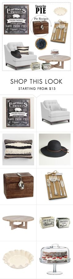 """""""Let's have some pie!"""" by doragutierrez ❤ liked on Polyvore featuring interior, interiors, interior design, home, home decor, interior decorating, Cost Plus World Market, Mud Pie, Young's and Emile Henry"""