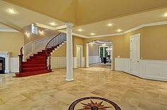 OMG! This looks like the foyer in my parent's house!!!!  I thought someone took a picture of it hahaha