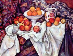 Titolo: Natura morta con mele e arance Artista: Paul Cézanne Data creazione: 1900 Periodo: Post-impressionismo