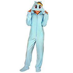 332287c5ca Rainbow Dash Hooded Union Suit ( 39.99) Onesie Pajamas