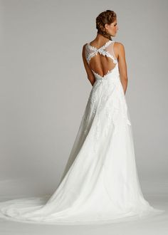 Bridal Gowns, Wedding Dresses by Ti Adora - Style 7605 Back View