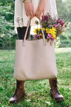 Reversible Oversized Tote Bag