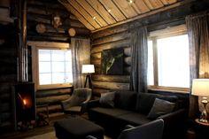 Majoitus Nellim | Nellim Curtains, Home Decor, Blinds, Decoration Home, Room Decor, Interior Design, Draping, Home Interiors, Net Curtains