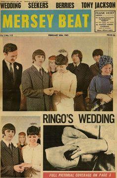 (182)ビートルズの躍進に大きく貢献したマージー・ビート紙(その3) - ★ビートルズを誰にでも分かりやすく解説するブログ★ 60s Party Themes, Richard Starkey, Beatles Band, Just Good Friends, February Wedding, Kinds Of Dance, Song Words, The Fab Four, Like Animals