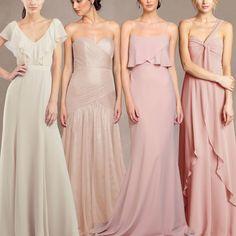 Jenny Yoo Bridesmaid Blush Ombre Dresses Tampa Bay Bridal Shop
