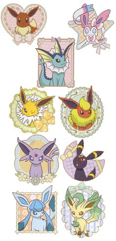 Just a side blog for eevee and it's many evolutions.