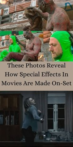 You may think that most movies use computer imaging in order to add in their effects. #Photos #SpeciaEffects#Movies