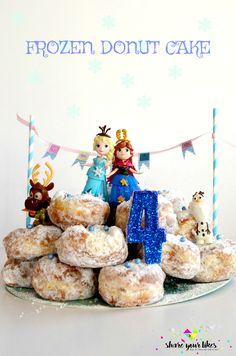 Φτιάξε αυτή την τούρτα ακόμη και χωρίς γιορτή. Απλά και μόνο επειδή κάποιος στο σπίτι αγαπά Frozen και Έλσα.:) Δε χρειάζεται να εξηγήσω πόση χαρά θα δώσεις!