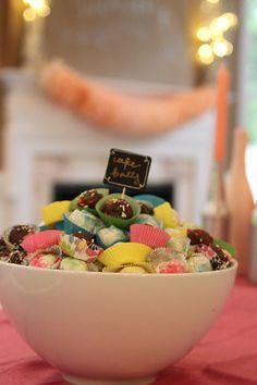 Cute Presentation for Cake Balls
