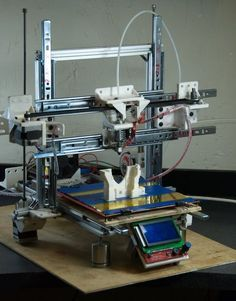 A low cost 3D printer with basic tools. I love the tutorial for making this 3d printer. The best one I've seen so far with minimal tools.