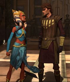 """Why do I have to be the slave master this outfit doesn't look right on me"" ""Because my young padawan i said so"""