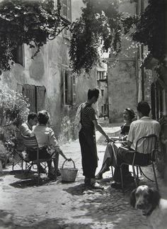 Old Italian or Old Spanish countryside 1940s 1930s