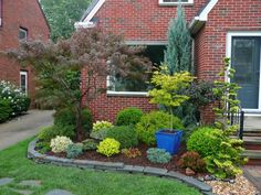 Put a pot in the planting bed! Adds color, height and architectural interest!