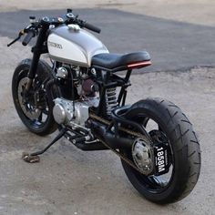 Such a cool cafe racer