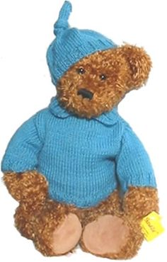Free+Stuffed+Teddy+Bear+Patterns | ... for 18.5 inch Teddy Bear, Knitting Patterns Teddy Clothes, skfp005