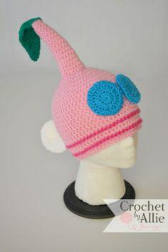 Pink Pikmin Hat | Crochetbyallie.com