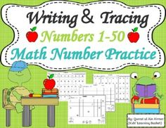 Learning To Write, Student Learning, Kids Learning, Preschool Math, Kindergarten, Early Finishers, Math Practices, Home Schooling, Math Centers