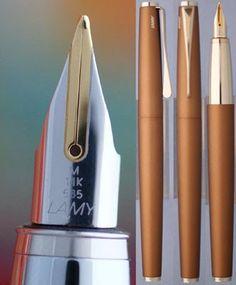 Nisstiiv pens: Lamy studio Bronze fountain pen