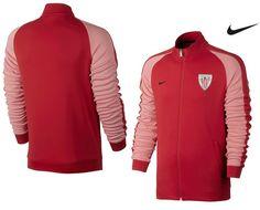 Chaqueta sudadera de entrenamiento del Athletic Club de Bilbao Nike 2017. Antes 85,00€, ahora 76,50€.