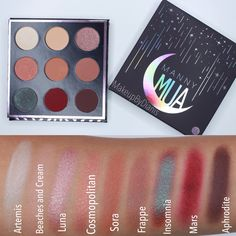 @themakeupgeek MannyMUA Palette   #eyeshadow #makeupgeek #makeupgeekxmannymua #swatches