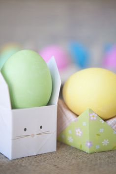 super cute origami easter craft kit from minted