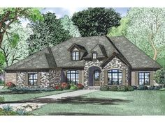 Luxury Ranch Home, 025H-0290