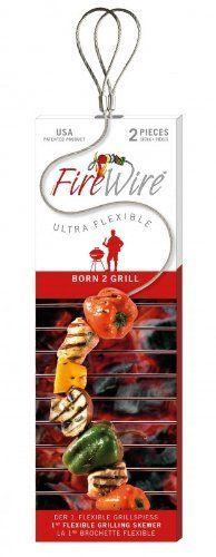 FireWire flexible Grill brochettes Big Green Egg 2 lots de 68 CM