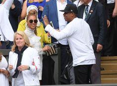 Pin for Later: Beyoncé und Jay Z hatten den größten Spaß in Wimbledon