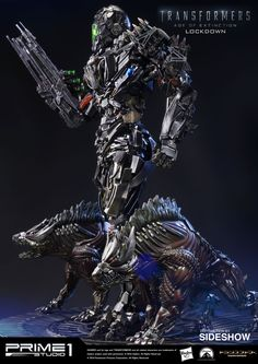 Transformers Lockdown Polystone Statue by Prime 1 Studio   Sideshow Collectibles