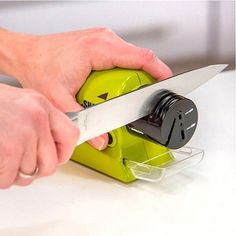Fashion Electric Knife Sharpener Home Stone Kitchen Knives Sharpening Tools #clothing,#shoes,#jewelry,#women,#men,#hats,#watches,#belts,#fashion,#style