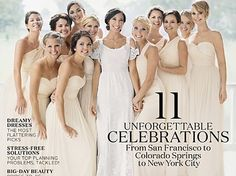 """Can you spot the famous bridesmaid?""""American Hustle"""" star Jennifer Lawrence covers Martha Stewart's latest issue of Real Weddings magazine, posing with her sister-in-law and their bridal party in the cover shot.Martha shared an image of the…"""