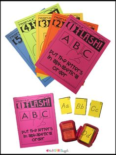 This is a set of 25 no-prep literacy centers activity posters. These were designed to compliment Kindergarten in a Flash and First Grade in a Flash flashcard sets, though you can use them with existing flashcards you already own OR you can easily use index cards to create your own flashcards specific to your curriculum. They're perfect for preschool, kindergarten, and first grade students and can easily be incorporated into you daily center rotations, small group activities, or ELA…