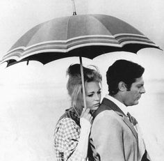 Marcello Mastroianni and Catherine Deneuve