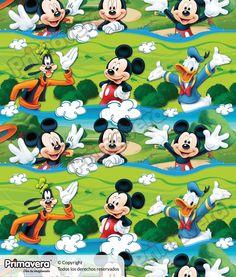 Papel Regalo Mickey Mouse 003053-008 http://envoltura.papelesprimavera.com/product/papel-regalo-mickey-mouse-003053-008/