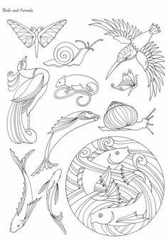 """Photo from album """"Art Nouveau Designs"""" on Yandex. Motifs Art Nouveau, Design Art Nouveau, Motif Art Deco, Art Nouveau Pattern, Art Design, Frise Art, Illustration Art Nouveau, Jugendstil Design, Tatoo Art"""