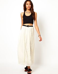 #asos                     #Skirt                    #River #Island #Embroidered #Panel #Maxi #Skirt     River Island Embroidered Panel Maxi Skirt                                     http://www.seapai.com/product.aspx?PID=1357831