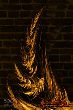 Rakshasa Detail Crop of Horn by Rybirdmusic. @go4fotos
