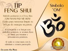 #TipFengShui: Usa este símbolo OM en casa para para limpiarla de energías negativas. Puedes adquirir nuestro sticker al: 372-6826