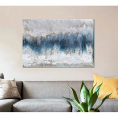 Print on Wrapped Canvas East Urban Home Canvas Artwork, Canvas Art Prints, Framed Art Prints, Painting Frames, Painting Prints, Paintings, Canvas Online, Learn To Paint, Abstract