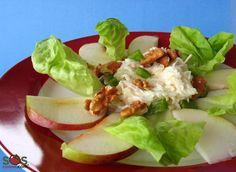 Recette - Salade Waldorf | SOS Cuisine
