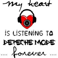 Memories are attached to Depeche Mode