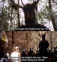 Monty Python omg childhood hahaha!