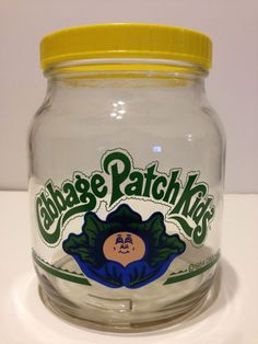 1984 VINTAGE RETRO CABBAGE PATCH KIDS CANDY JAR CONTAINER-EXCELLENT CONDITION!