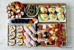Christmas Party Food, Xmas Food, Cold Appetizers, Appetizers For Party, Lidl, Party Food Platters, Romanian Food, Food Festival, Casserole Recipes