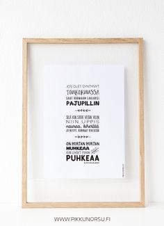 Sanat: Elina Karjalainen  Runojen tekijänoikeudet ovat voimassa.